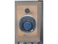 """Set of 2 vintage Heavy Duty 12"""" Fane POP 40 Speaker 45 watt. ready to use"""