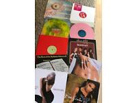 80 vinyl records 12's & lp's
