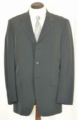 Worn Once $1895 PRADA Flat Front Button Fly Grey Techno Fabric SUIT 40 42 L Button Fly Suit