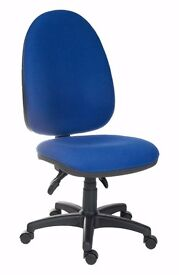 New Blue & Black Office/ Computer Chair In Excellent Condition