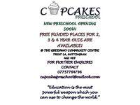 Cupcakes preschool
