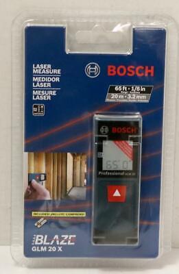 New - Bosch Glm 20x 6520m Laser Distance Measurerange Finder