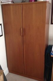 Austinsuite Double door free standing wood wardrobe