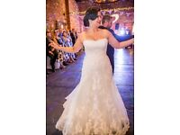 Wedding dress, size 16, Blue by Enzoani - Hamilton, £500 ONO