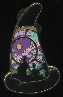 WDI Sorcerer Hats Mystery Attractions 20,000 Leagues Under the Sea LE Disney Pin
