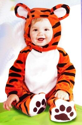 Baby Boys Infant Girls Warm Tiger Orange Halloween Costume 12 18 Months NEW](Tiger Halloween Costume Baby)
