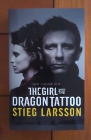 9 x NEW The Girl with Dragon Tattoo Novel by Stieg Larsson Book - Crime Thriller Millennium Trilogy