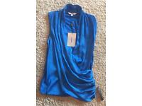 Jasper Conran silky blouse. Size 12. Brand new with tags. £20