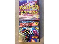 NEW x3 Board Games (Pictionary, Mastermind & Catchphrase)