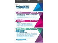 Wireless tickets