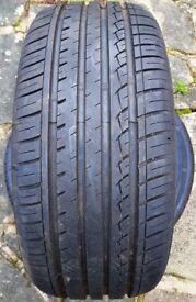 Set of four 225/45 R17 tyres.