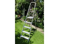 ABRU 5 step ladder in good used condition