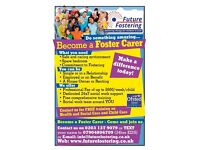 Got a Spare Bedroom? Become a Foster Carer - Free Training - Dedicated Social Worker to Support
