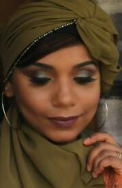 Hijab stylist qualified makeup artist