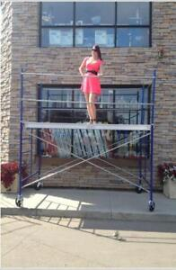 5 Scaffold Tower with 5 x 5 Frames & 10 x 19 Platform Edmonton Area Preview