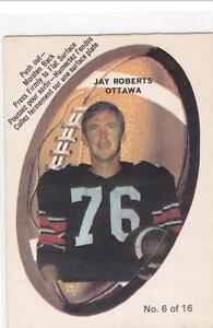 1970 Cfl push outs