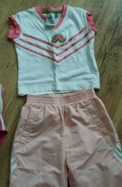 c91a08a1 Adidas girls tracksuit size 12-18 mths | in Chester Le Street, County ...