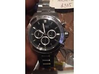Boss watch for sale, genuine watch. Brand new with screen protector still on.