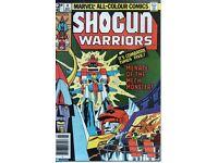 Shogun Warriors Comics - Bronze Age