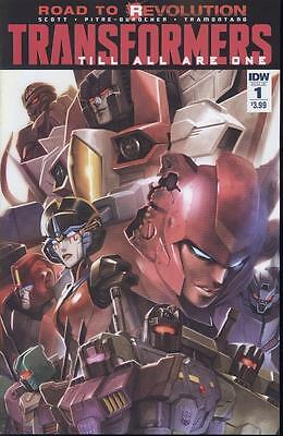 Transformers Till All Are One #1   NEW!!!](Are Transformers Superheroes)