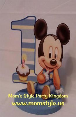 Baby Mickey Mouse Birthday Party Centerpiece - Mickey Mouse Centerpieces