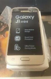 SAMSUNG GALAXY J1 MINI MOBILE PHONE IN WHITE**BNIB**UNLOCKED**DUAL SIM**