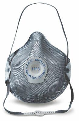 1x MOLDEX 2535 FFP3 NR D Atemschutzmaske FFP 3 Gase Mundschutz mit Ventil Maske