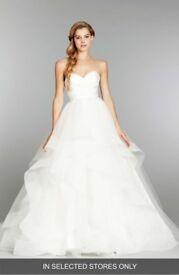 Hayley Paige Londyn 6358 Designer Wedding Dress - Size 8 --- BEAUTIFUL, great condition