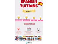 SPANISH TUITION / All LEVELS/ NATIVE SPANISH TEACHER