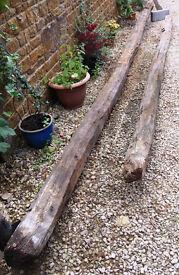 Antique Timber Roof Beams Circa 17 Cent