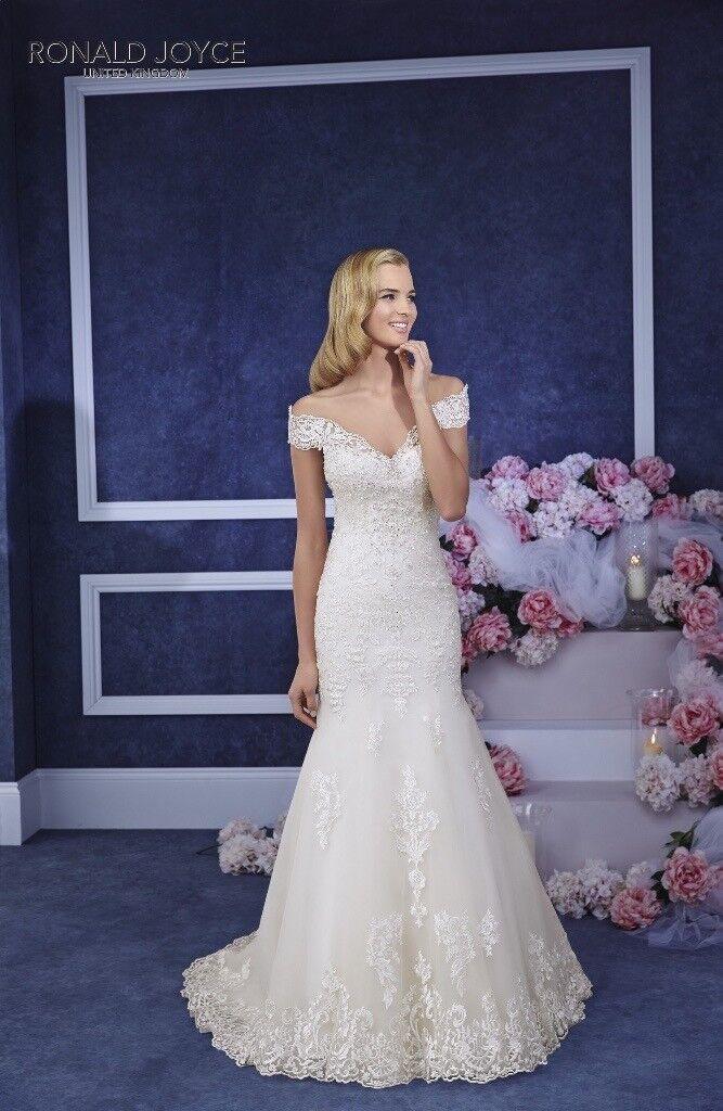 Ronald Joyce Eliana Wedding Dress Size 16 12