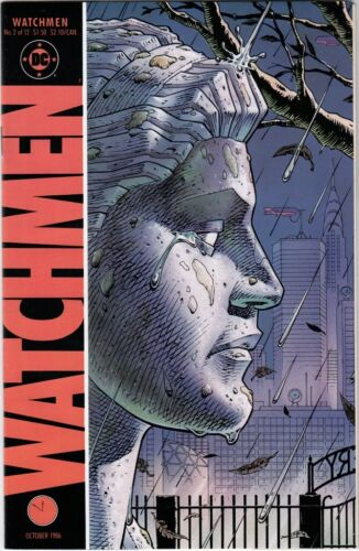 """Watchmen #2 NM/NM+ Alan Moore Dave Gibbons (1986) """"Absent Friends"""" DC HBO"""