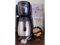 Starbucks Barista Aroma Thermal Coffee Maker | Electronic Overnight Timer | Swissgold filter