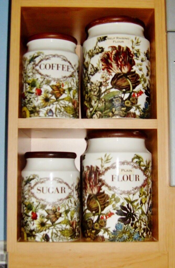 'Dunoon Pottery' Earthenware Storage Jars