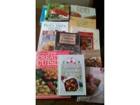 Assorted Cookery Books