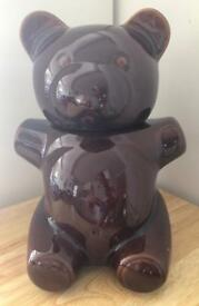 Aramis ceramic cookie jar