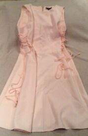 Pale pink dress by Top Shop