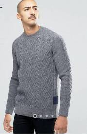 Barbour Knit Jumper Medium