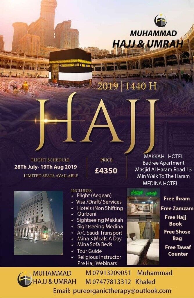 Hajj package 2019 | in Derby, Derbyshire | Gumtree