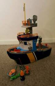 Imaginext fishing boat
