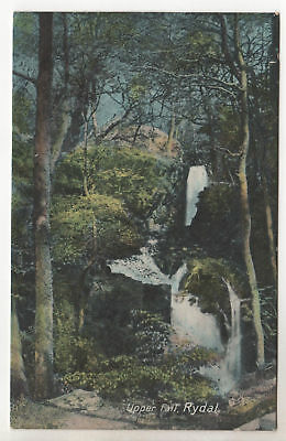 Upper Fall - Rydal Photo Postcard c1905 / Cumbria