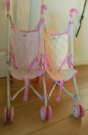 Dolly pram and cot