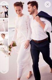 Next Beautiful Wedding Dress Size 16 New With Tags