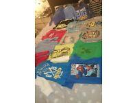 Bundle of boys tops age 5-6