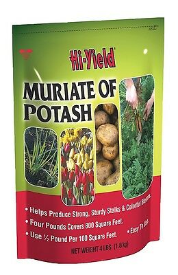 Hi Yield Muriate Of Potash 4 Lb Potassium For Vigorous Growth   Plant Health