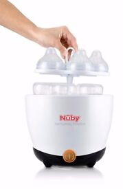 Nuby Natural Touch Bottle Steriliser Excellent Condition Full Working Order