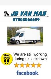HOUSE REMOVALS COVID SAFE - large Luton Van two man team 5 star rated