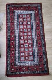 Red Oriental Style Rug