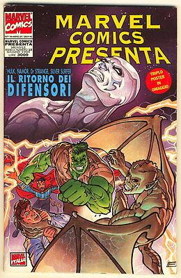 MARVEL COMICS PRESENTA 15 1994 DIFENSORI CON POSTER