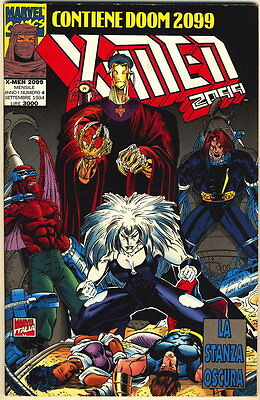X-MEN 2099 N. 4 LA STANZA OSCURA MARVEL COMICS 1994